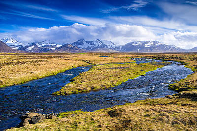 Photograph - Landscape In Snaefellsnes West Iceland by Matthias Hauser