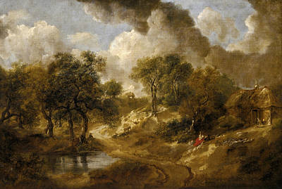 Painting - Landscape In Suffolk by Thomas Gainsborough