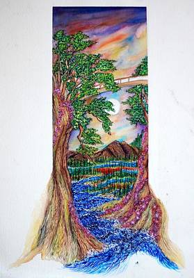 Landscape Art Print by Joseph Lawrence Vasile