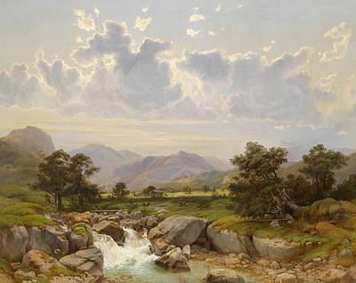 Landscape Painting - Landscape by Julius Rose