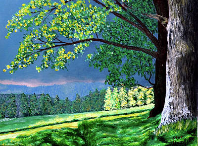 Painting - Landscape Light by Stan Hamilton