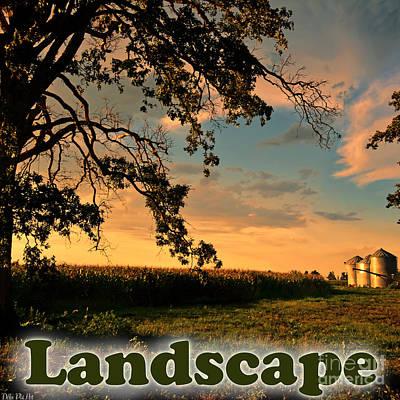 Photograph - Landscape Logo by Debbie Portwood