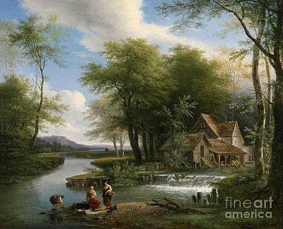 1780 Painting - Landscape by Celestial Images