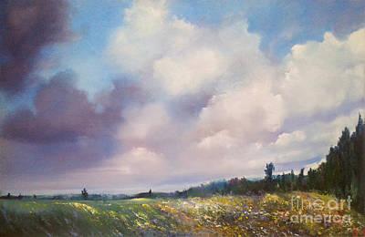 Painting - Landscape by Maja Sokolowska