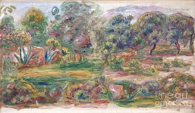 Painting - Landscape Near Cagnes by Celestial Images