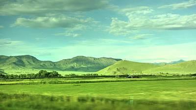 Photograph - Landscape Near Salida Colorado I by Lanita Williams