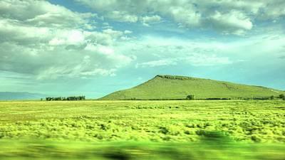 Photograph - Landscape Near Salida Colorado II by Lanita Williams
