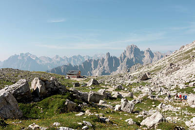Photograph - Landscape Of Dolomiti by Pietro Ebner