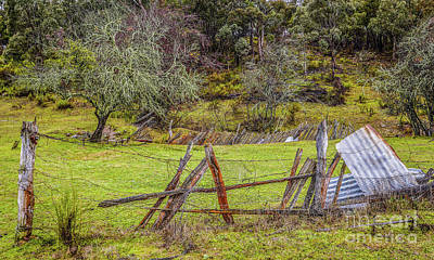 Photograph - Landscape Of Hill End by Lexa Harpell