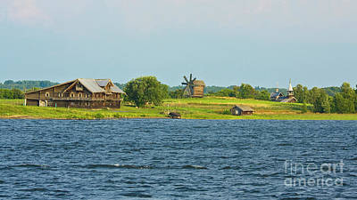 Photograph - Landscape Of Kizhi Island by Irina Afonskaya