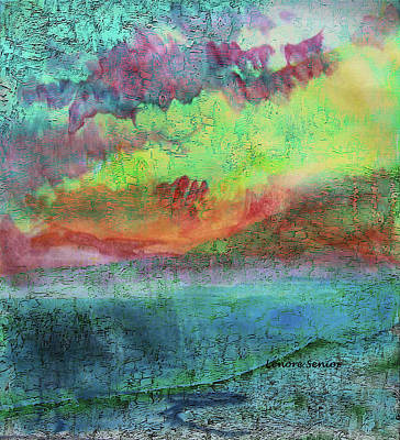 Mixed Media - Landscape Of My Mind by Lenore Senior