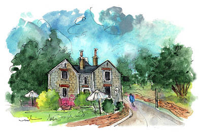 Painting - Landscape Of North Yorkshire 04 by Miki De Goodaboom