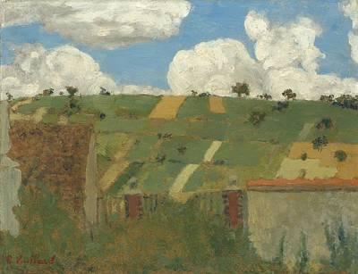 Landscape Of The Ile-de-france Art Print