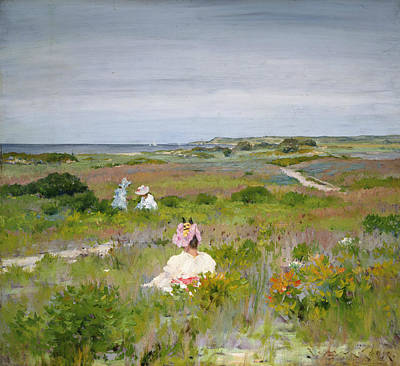 Painting - Landscape- Shinnecock, Long Island by William Merritt Chase