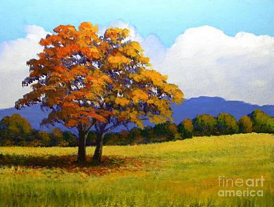Landscape Study 1 Original by Frank Wilson