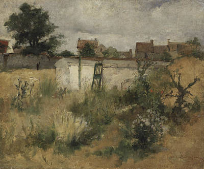 Painting - Landscape Study From Barbizon by Carl Larsson