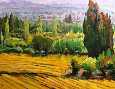 Painting - Landscape Study by Kevin Davidson