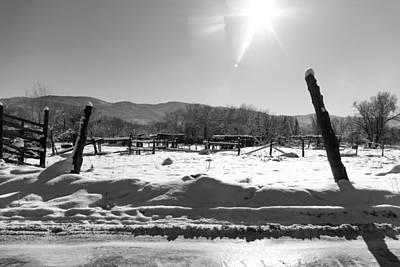 Earthship Photograph - Landscape Taos Nm J10r by Otri Park