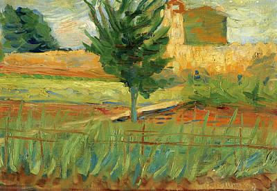 Umberto Boccioni Painting - Landscape by Umberto Boccioni