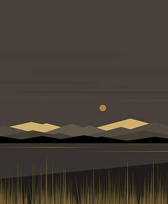 Digital Art - Landscape - Vertical by Val Arie
