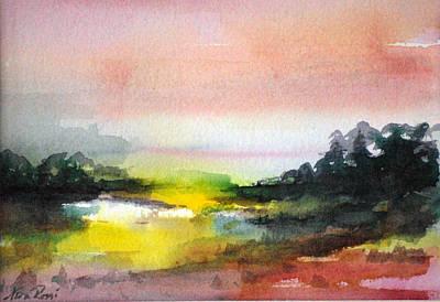 Landscape Vi Art Print by Neva Rossi