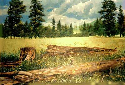 Painting - Landscape by Victor Cuya