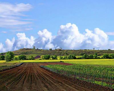 Photograph - Landscape View by Anthony Dezenzio