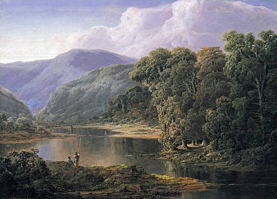William Sonntag Painting - Landscape by William Louis Sonntag