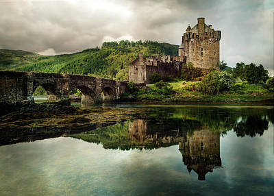 Landscape With An Old Castle Art Print