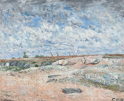 Drifting Painting - Landscape With Drifting Clouds by Carl Fredrik Hill