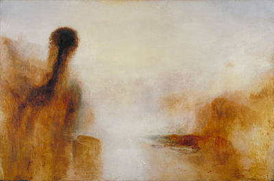 Painting - Landscape With Water by William Turner