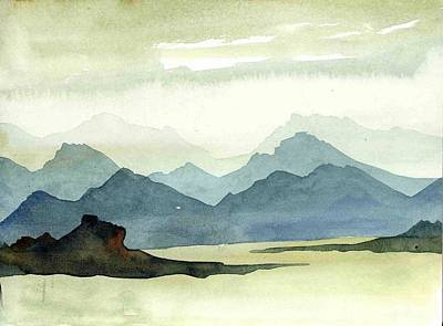 Landscape09-1 Art Print