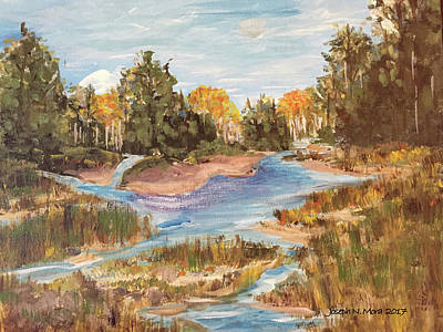 Painting - Landscape_1 by Joseph Mora