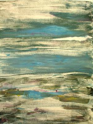 Printmaking Mixed Media - Landscape1 by Susan Grissom