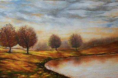 Art Print featuring the painting Landscapes by Emery Franklin