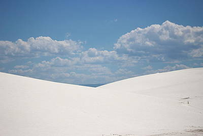 Landscapes Of White Sands 11 Art Print