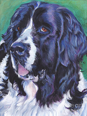 Painting - Landseer Newfoundland by Lee Ann Shepard