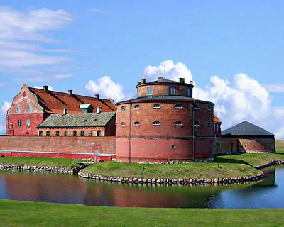 Photograph - Landskrona Citadel by Anthony Dezenzio