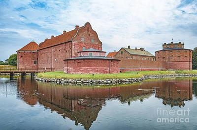 Landskrona Citadel Castle Art Print by Antony McAulay
