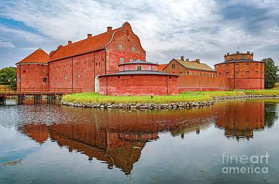 Landskrona Citadel In Sweden Art Print by Antony McAulay