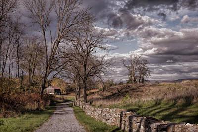 Photograph - Lane Into History by John M Bailey