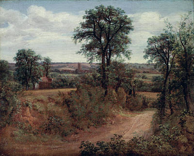 John Constable Painting - Lane Near Dedham by John Constable
