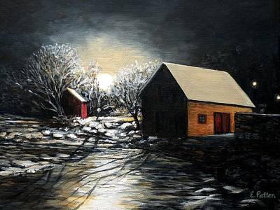 Fishing Shack Painting - Lanes Cove After The Storm by Eileen Patten Oliver