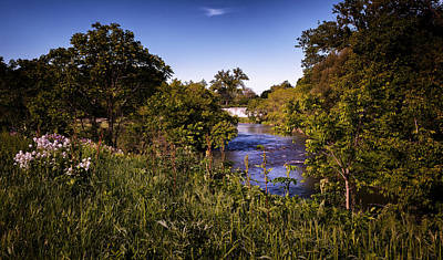 Photograph - Lanesboro Dam 01 by Al  Mueller