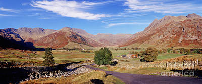 Photograph - Langdale Panoramic View by Warren Photographic