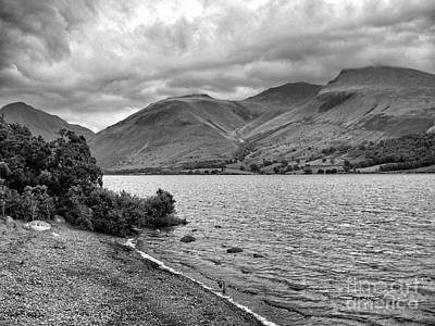 Photograph - Langdale Pike In Monochrome by Joan-Violet Stretch