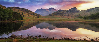 Photograph - Langdale Pikes At Sunrise by James Billings