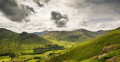 Digital Art - Langdale Valley by Mike Taylor
