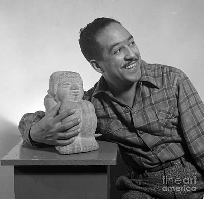 Langston Hughes, American Poet Art Print by Science Source