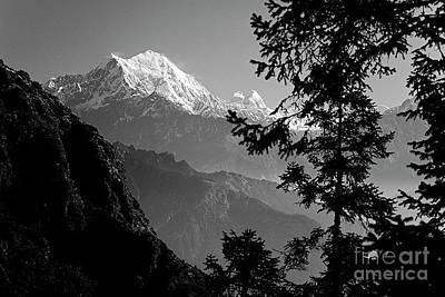 Photograph - Langtang Peak - Nepal by Craig Lovell